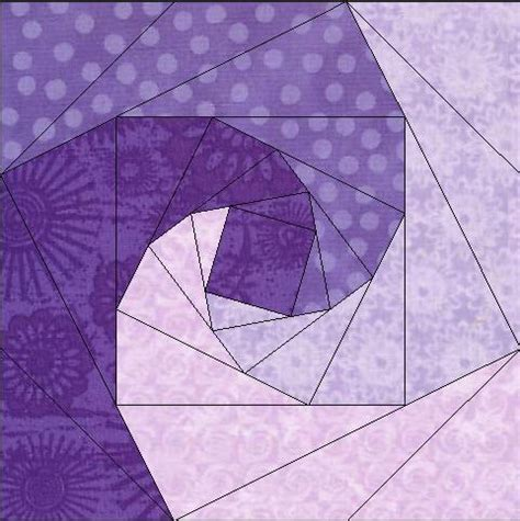 Foundation Pieced Quilt Patterns by Whirlpool Log Paper Pieced Foundation By Linleys Designs
