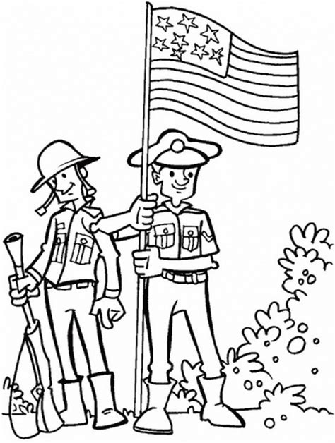 More Coloring Pages For Veterans Day Family Holiday Net Veterans Day Coloring Pages For