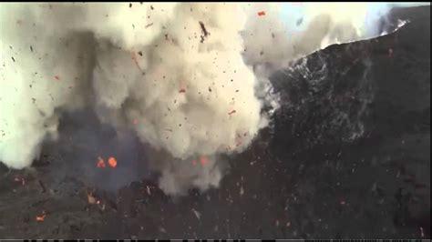 imagenes chistosas nunca antes vistas drone graba imagenes nunca antes vistas de erupci 243 n