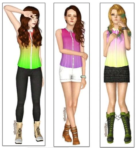 sims 3 outfits 50 best images about sims 3 on pinterest sims 4