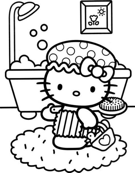hello kitty tea party coloring pages 17 best images about hello kitty on pinterest coloring