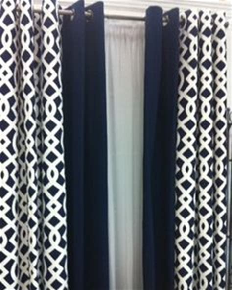 navy lattice curtains 1000 images about ready made curtains panels tiers on