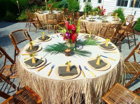 Backyard Luau Wedding Reception Triyae Hawaiian Themed Backyard Weddings Various