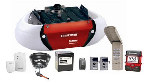 Craftsman Belt Drive Garage Door Opener System With Die Craftsman Garage Door Opener Battery