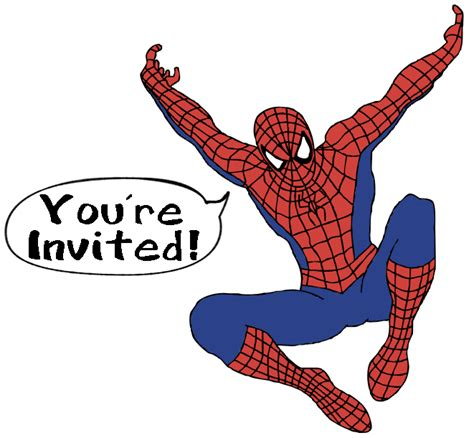 make spiderman invitations for your birthday party