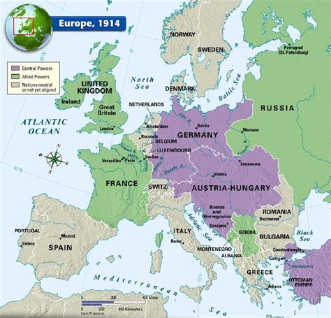 europe map 1914 europe 1914 history