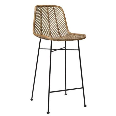Bloomingville Rattan Counter Stool bloomingville rattan bar stool chairs bar