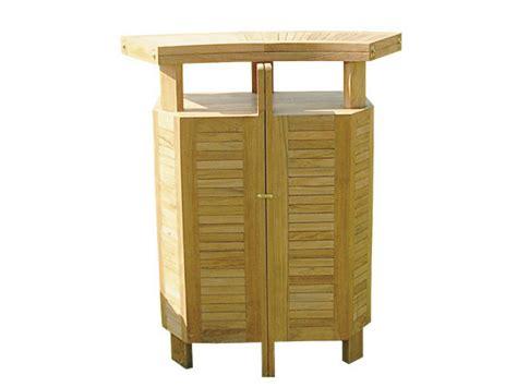 mobili da giardino in teak mobile bar da giardino in teak evolution by il giardino di
