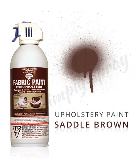 upholstery dye spray saddle brown fabric dye spray paint quick easy effective
