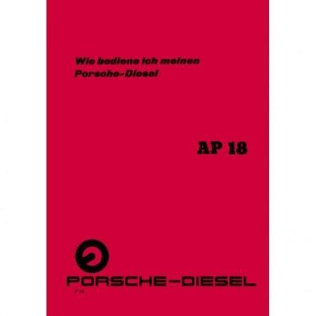 Porsche Diesel Ap 18 by Porsche Diesel Ap 18 Traktor Preise Fotos Techn Daten