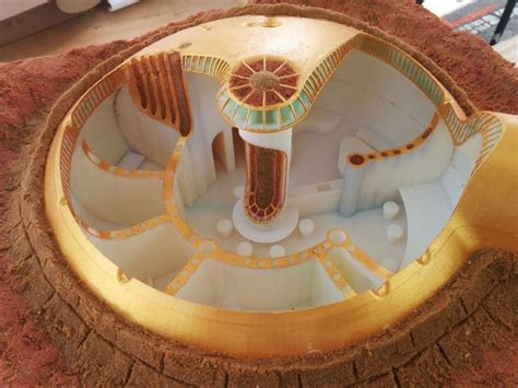 Building A House From Plans by Israelis Design 3d Printed Mars Habitat Technology News