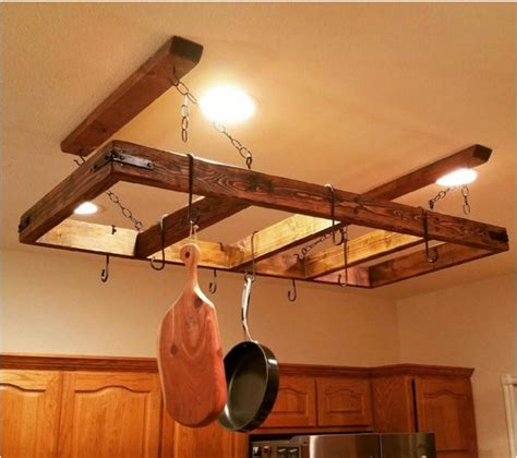 kitchen pot rack ideas 12 diy pot rack projects to save space in your kitchen