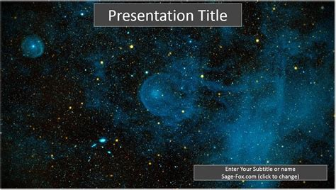 powerpoint templates free download galaxy sagefox sagefox free space powerpoint templates by sagefox