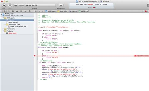 tutorial xcode pdf español xcode a basic objective c code from tutorial can not run
