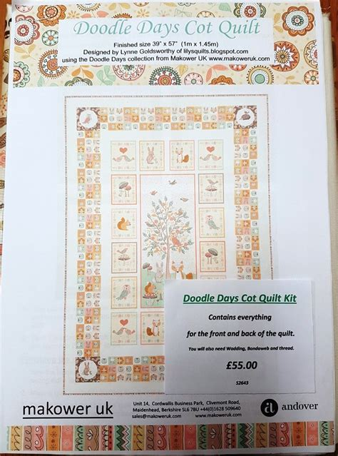 doodle calendar uk all fabrics