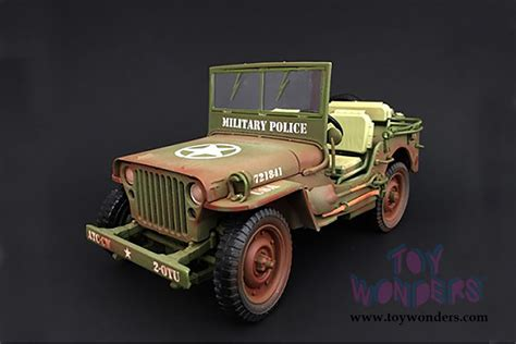 military police jeep army jeep vehicle military police dirty version 77406a 1