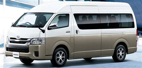 new toyota hiace wagon front picture front view photo and