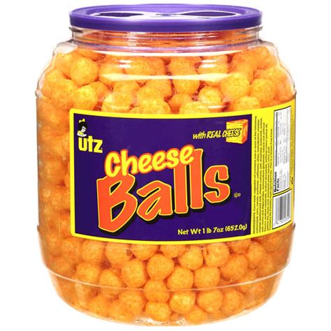 Planters Cheez Balls by Free Utz Snacks Barrel Of Cheese Balls