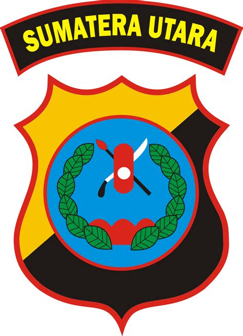 logo polda sumatera utara kumpulan logo indonesia