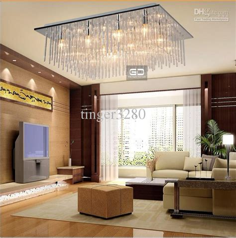 2018 Modern Fashion Square Ceiling Living Room Bedroom Ceiling Light For Living Room
