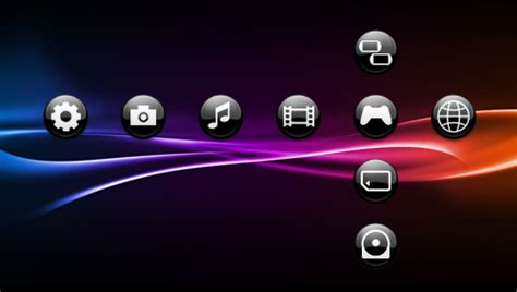 psp themes sfere black 3 psp theme by javierocasio on deviantart