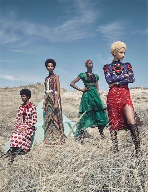 More Fashion Photography In W Magazine August 07 Issue by W Magazine August 2015 By Summerton The Fashionography
