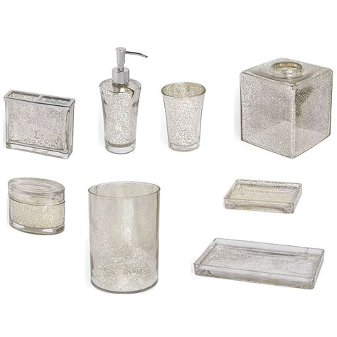 Mercury Glass Bathroom Accessories Mercury Glass Bathroom Accessories Simple Ways Cool Ideas For Home
