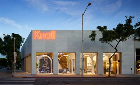 knoll nyc home design store knoll nods to moorish architecture in new la store by