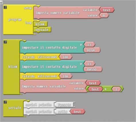 librerie per arduino programmare graficamente arduino flussi liberi informatici