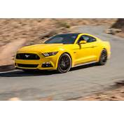 Stunning Yellow 2016 Ford Mustang GT 1  Muscle Cars Zone