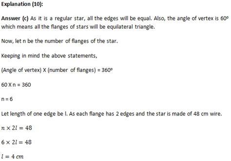 Quantitative Background Mba Applications by Mba Quantitative Aptitude Questions Answers Geometry