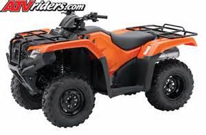 Honda Atv Rancher 2014 Honda Rancher Foreman Utility Atv Models