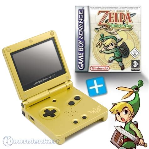 Gabag Zelca gba console sp edt the legend of the minish