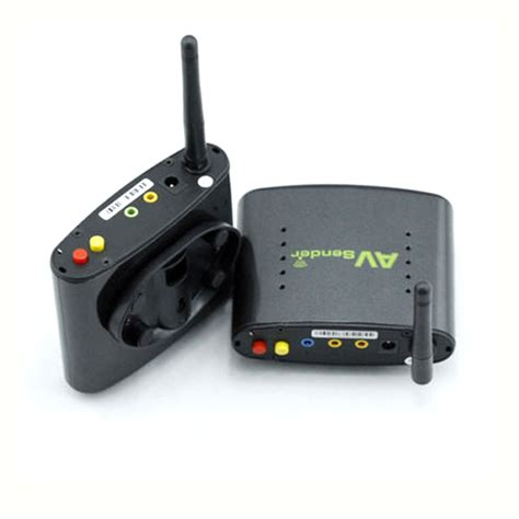 Transmitter Tv Digital 2 4ghz digital stb wireless av sender tv audio transmitter receiver ebay