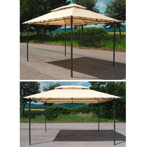 pavillon metall 3x4m pavillon gartenpavillon garten sonnenschutz 220 berdachung