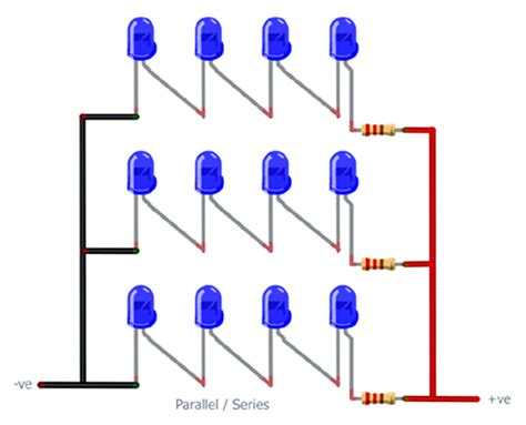 resistor for led in parallel resistor needed for leds