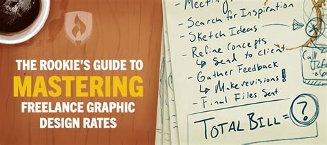 graphic design layout rates the rookie s guide to mastering freelance graphic design rates