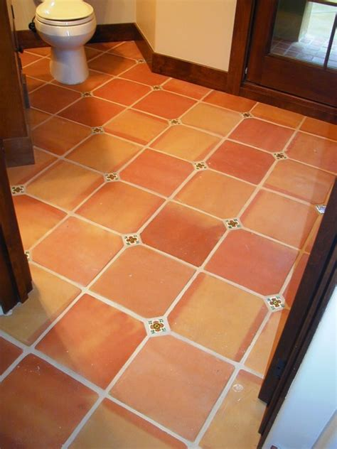 12x12 terracotta saltillo mediterranean wall and floor tile by rustico tile and stone