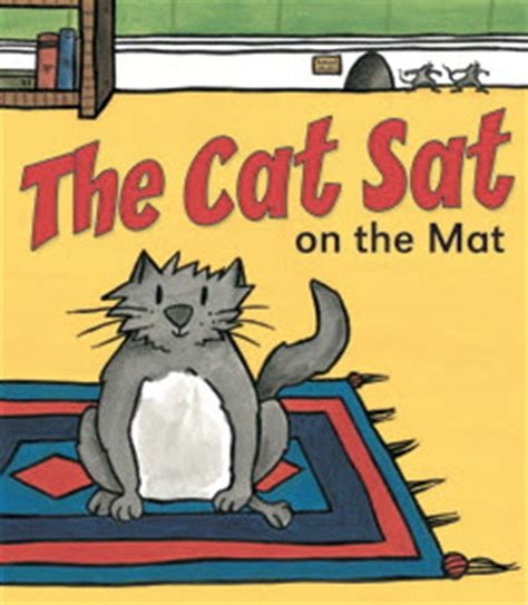 Cat Sat On The Mat by Babyblueonline The Cat Sat On The Mat