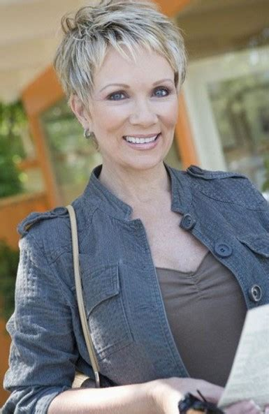 ruffled pixie hair cut 15 short hairstyles for women over 50