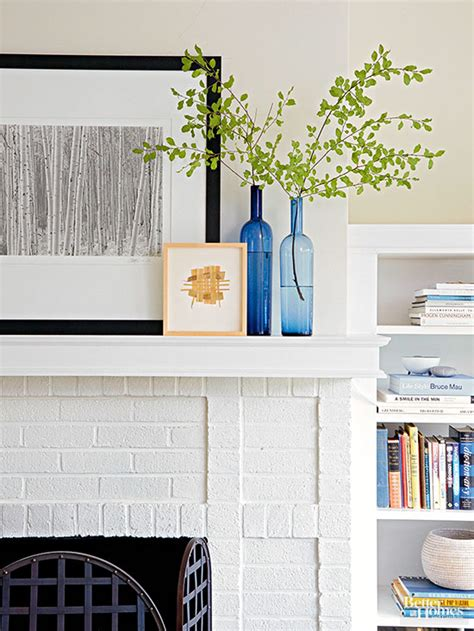 how to paint a brick fireplace white how to paint a brick fireplace