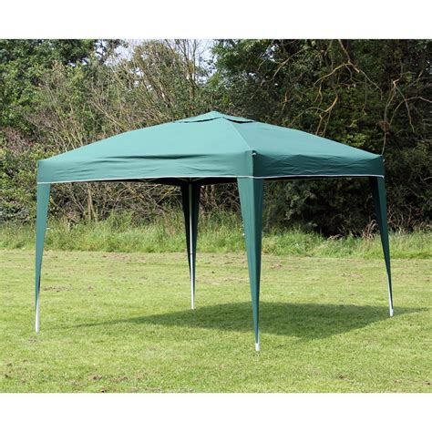 ez up gazebo 10 x 10 palm springs green ez pop up canopy gazebo