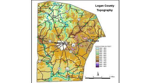 kentucky karst map groundwater resources of logan county kentucky