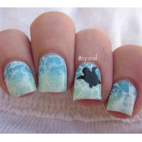 Sea Turtle Nail sea turtle nail nails nail