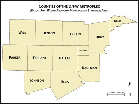 dfw county map awakenings dallas fort worth magazine