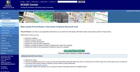 King County Property Tax Search By Address Related Keywords Suggestions For King County Parcel Viewer