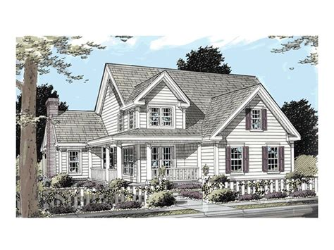 Two Story Country House Plans by Country House Plans 2 Story Country Home Plan 059h