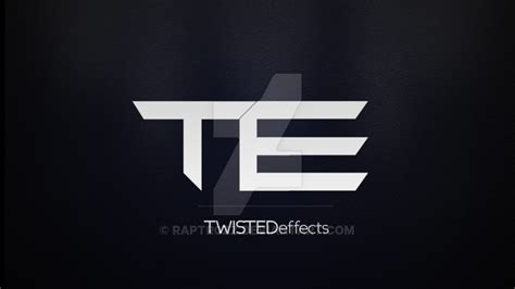 tutorial logo youtube twistedeffects youtube channel logo by raptr0zz on