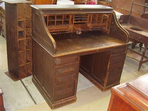 cutler roll top desk special antique auction gowans
