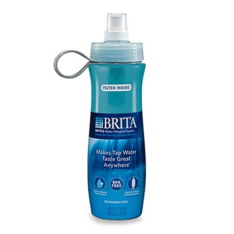 brita bed bath and beyond buy brita 174 bottle filtered water bottles from bed bath